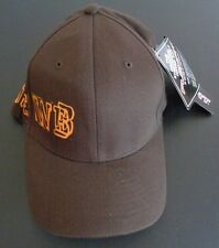 Warner Brothers THE WB Flexfit NEW Hat Cap FREE SHIPPING Size Small Medium Brown