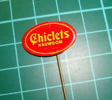Chiclets logo kauwgom chewing gum - pin badge 60's speldje Dutch
