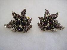 """HEIDI DAUS """"Entrance Maker"""" Omega-Pierced Earrings (Orig.$79.95)"""
