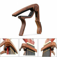 Guitar Capo Quick Change 6-String Acoustic Classic Guitar Tool Trigger Key Clamp