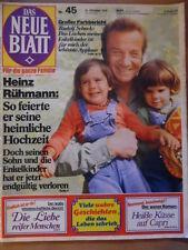 DAS NEUE BLATT 45 - 31.10. 1974 Rudolf Schock Magda Schneider Heinz Rühmann