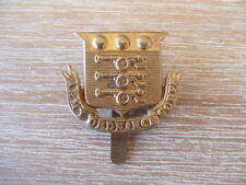 Miltary Cap Badges World War 1 Royal Ordnance Corps Complete with Slider
