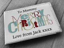Christmas birthday personalised photo album memory book, Mum Mummy present