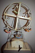 Alte Blech Riesenrad mit Spieluhr zum aufziehen - mechanisch (439-18)