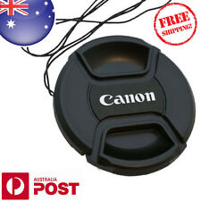 CANON LENS CAP - 67mm Camera Snap-on Len Cap Cover + Cord - AUS POSTAGE - Z185F