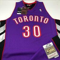 New Dell Curry Toronto Raptors 1999 - 00 Mitchell & Ness Swingman NBA Jersey M