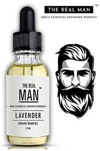 beard & Mustache Hair growth Oil for with 100% Organic lavender scent oil