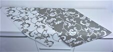 Tischläufer Tischdecke Tischlaeufer 100% Baumwolle 2 Farben gedeckter Tisch