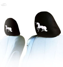 NEW INTERCHANGEABLE UNICORN CAR SEAT HEADREST COVER GREAT GIFT FOR SUBARU