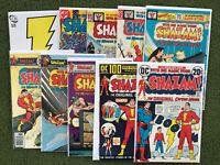 Shazam lot Of 9 Bronze Age Isis Mary Marvel