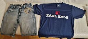 Karl Kani Kurze Hose und Shirt