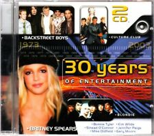 30 YEARS OF ENTERTAINMENT Double CD DO905444 Disky @NEW@ Backstreet Boys BLONDIE