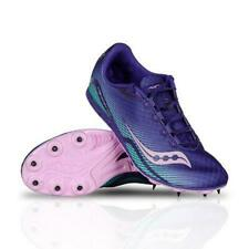Saucony Racing Track Shoes ~ Vendetta Spikes~ Blue Pink Green ~10 ~ New W/O Box