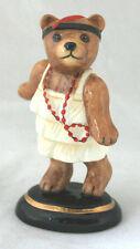 Halcyon Days Porcelain 2003 Teddy Of The Year Teddy Bear Figurine