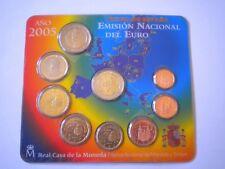 EUROSET ESPAÑA - AÑO 2005 - TODOS LOS VALORES EN EUROS - Sin Circular