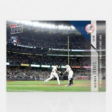 2018 TOPPS NOW #167 GLEYBER TORRES 1ST CAREER HR YOUNGEST YANKEES SINCE 1969