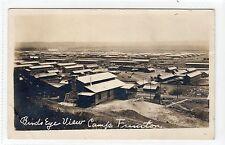 BIRD'S EYE VIEW, CAMP FUNSTON, FORT RILEY: Kansas USA postcard (C11925)