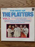 The Platters  The Best Of The Platters Volume 2 6336 219 Vinyl LP Compilation