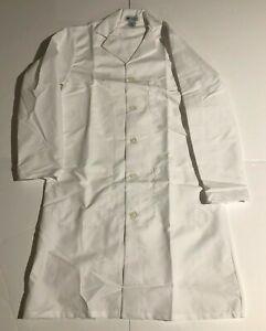 Lab Coat MedLine White Lab Coat 32E Small Ladies Coat 5 Star Review On Amazon