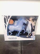 BOX DAMAGE Hasbro Disney Frozen 2 Elsa Doll And Nokk Spirit Horse FREE SHIPPING