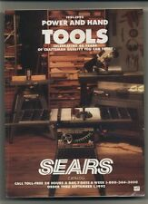 Sears Power and Hand Tools Catalog Featuring Craftsman 1991 - 1992
