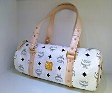Original de lujo MCM visetos Bag bolso bandolera No. p7722 blanco azul! nuevo!