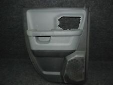 2013-2017 DODGE RAM TRUCK OEM LEFT REAR DRIVER SIDE QUAD CAB DOOR PANEL TWO TONE