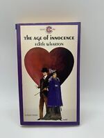 the Age of Innocence Edith Wharton 1962 Signet Classics Vintage Literature PB
