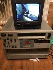 Sony U-matic VO 7630 PAL SECAM NTSC 300 h Drum für Datensicherung top