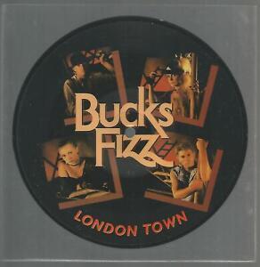 "Bucks Fizz - London Town 1983 UK 7"" Picture Disc VG+/VG+"