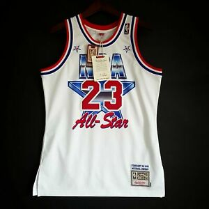 100% Authentic Michael Jordan Mitchell Ness 1991 All Star Jersey Size 40 M Mens
