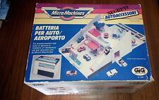 Micro Machines AUTOACCESSORI SEGRETI BATTERIA AUTO AREOPORTO micromachines 1989