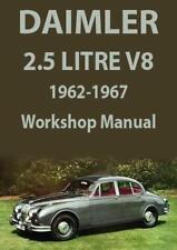 DAIMLER 2.5 LITRE V8 SALOON WORKSHOP MANUAL 1962-1967