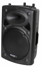 Lautsprecher Ibiza SLK15AUSB Full-Range Karaoke Anlage Elektronik Schwarz Musik