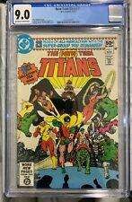 New Teen Titans #1 (1980) CGC 9.0 2nd Raven, Starfire & Cyborg DC Comics Perez