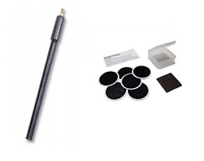 Raleigh Bike Pump - Suitable For All Valves & Raleigh Glueless Puncture Patches