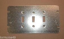Orbit 4M3-TS 3 Gang Switch Box Cover Toggle