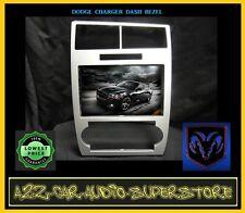 SILVER TRIM RADIO STEREO CAR INSTALLATION KIT DASH DOUBLE DIN GPS NAV NAVIGATION