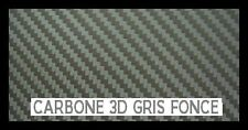FILM CARBONE 3D GRIS ANTHRACITE 152 x  50 cm