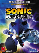 Sonic Unleashed Game STRATEGY GUIDE Nintendo Wii PS2 cheats walk through Prima