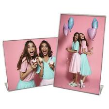 More details for clear acrylic frame sign holder picture display photo menu poster award flyer
