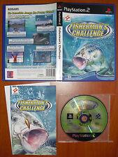 Fisherman's Challenge (Pesca) KONAMI PlayStation 2 PS2 PStwo Pal-España MUY RARO