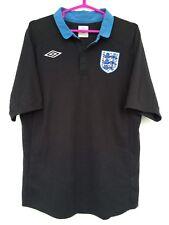ENGLAND NATIONAL TEAM 2011 2012 UMBRO AWAY FOOTBALL SOCCER SHIRT JERSEY BLACK