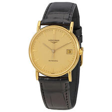 Longines Presence Champagne Dial Automatic Ladies Watch L4.744.6.32.0