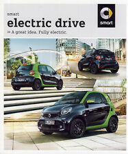 2018 MY Smart Electric Drive 10 / 2017 catalogue brochure English