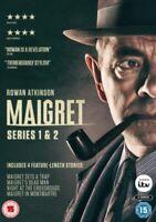 Nuovo Maigret Serie 1 A 2 Collezione Completa DVD