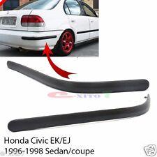 New Rear Bumper Molding Impact Pad Trim 96-98 Honda Civic EK EJ Couple Sedan EK4