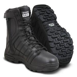 Original SWAT Metro Air 9 inch Side Zip Waterproof Insulated Tactical Boot Black