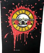 "GUNS N' ROSES RÜCKENAUFNÄHER / BACKPATCH # 10 ""BLOOD LOGO"" 36x29cm VINTAGE 1991"