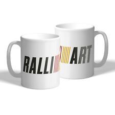 Mitsubishi Ralliart Mug Car Mechanic Tea Coffee Cup Car Lander Evo Gift